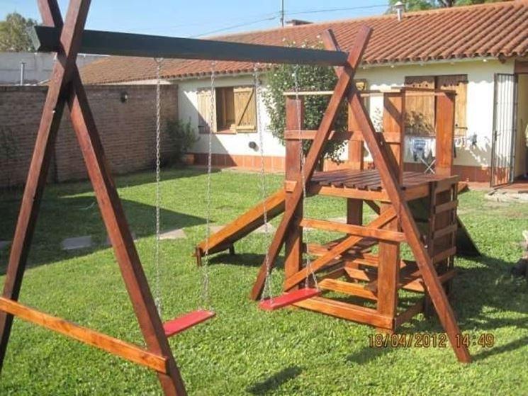 Giochi da giardino arredamento per giardino scelta dei - Altalena per giardino ...