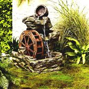 Classica fontana da giardino