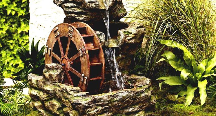 Come Costruire Una Fontana In Cemento.Installare Fontane Da Giardino Arredamento Per Giardino Come