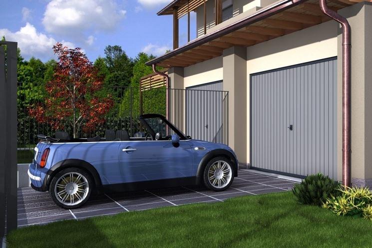 Posto auto scoperto arredamento per giardino costruire for Kit per posto auto coperto