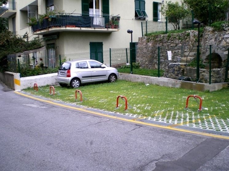 Posto auto scoperto