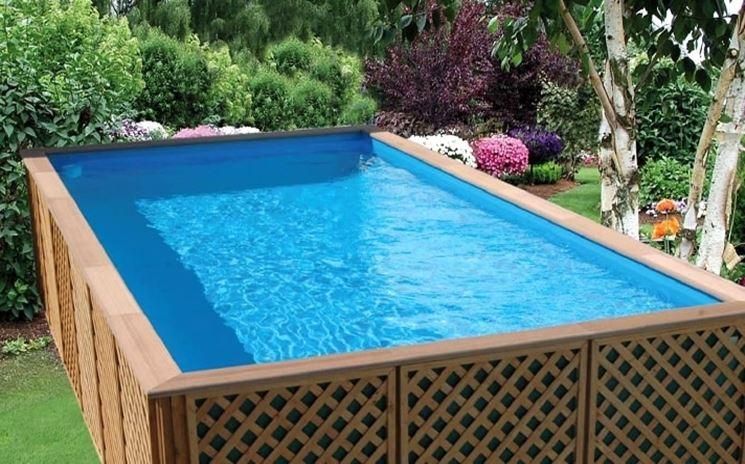 Realizzare un piscina fai da te arredamento per giardino - Rivestire piscina fuori terra fai da te ...