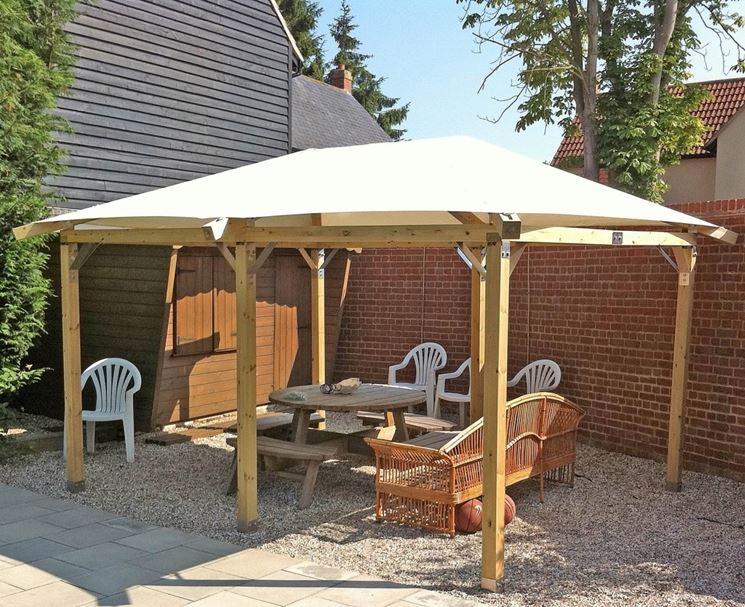 Mobili lavelli tettoia in legno per auto fai da te for Costo per costruire un garage per auto