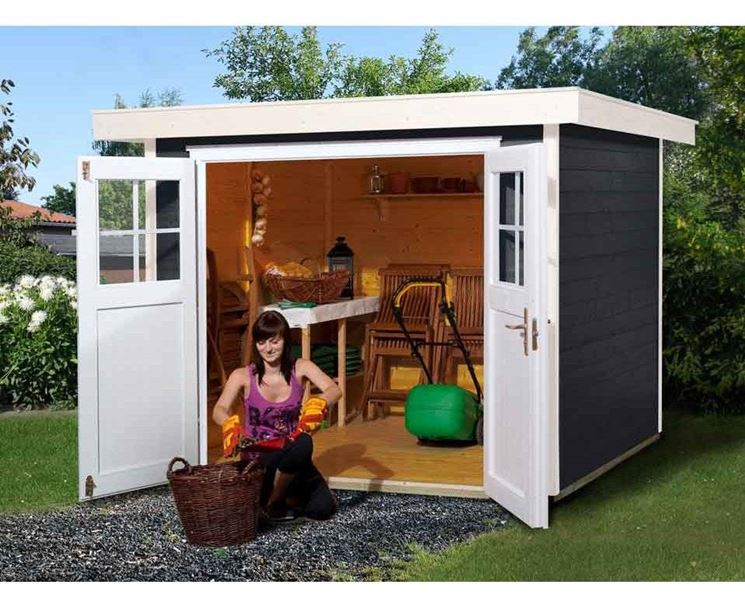 Box in legno per il giardinaggio