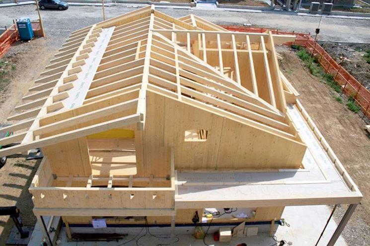 Caratteristiche case in legno x lam casette per giardino for Interno case americane