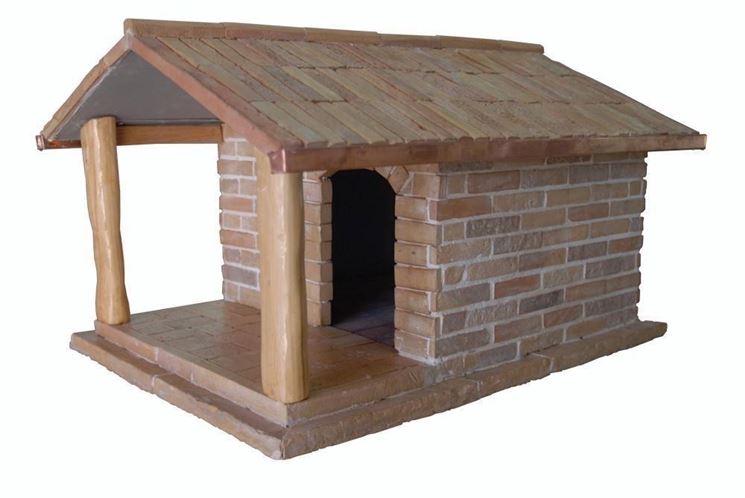 casette in legno e pietra
