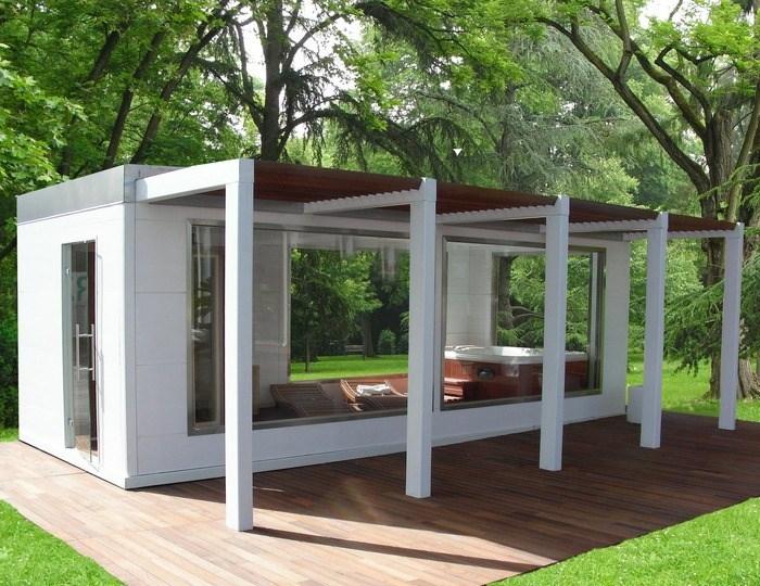 Casette in legno abitabili casette per giardino - Case trasportabili ...