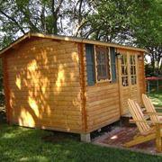 La pi� classica tra le casette in legno da giardino