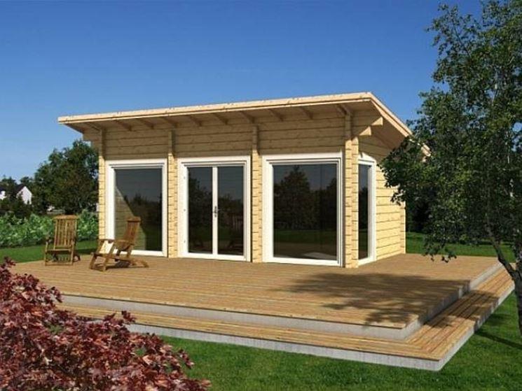 Chalet in legno prefabbricati casette per giardino - Prefabbricati da giardino ...