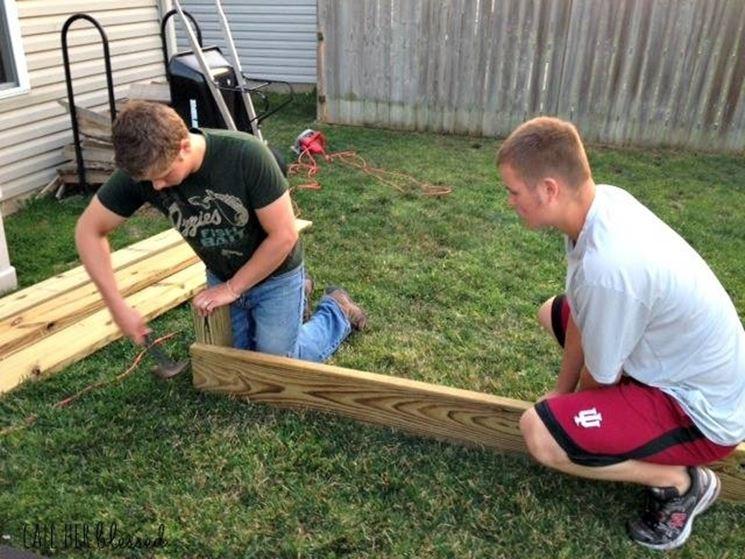 Come Costruire Un Tavolo Da Giardino In Legno. Awesome Costruire Un ...