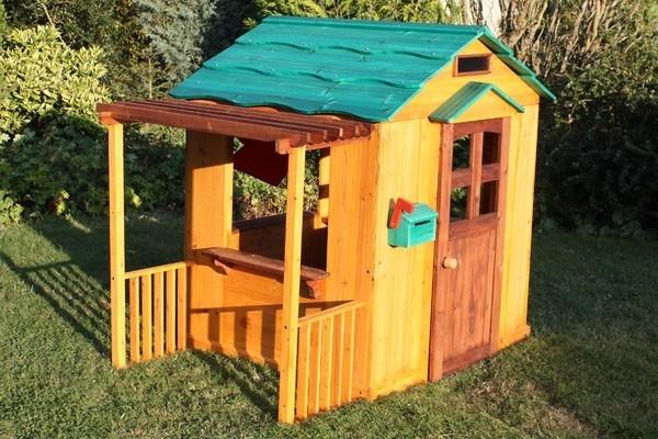 Eccellente casetta legno bambini fai da te bz91 pineglen - Casette in legno per giardino ...