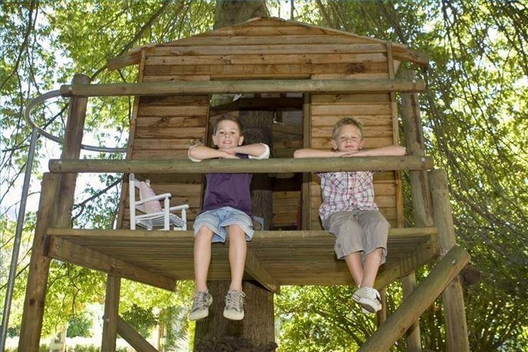Costruire la casa sull 39 albero casette per giardino for Prezzo per costruire una casa
