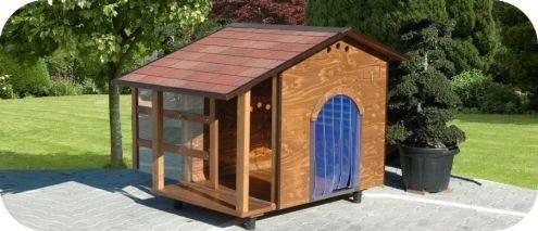 Come costruire una casa in legno per cani