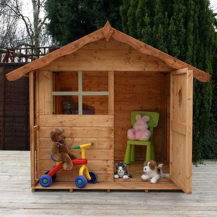 Costruzioni case in legno casette per giardino come - Casette in legno per giardino ...