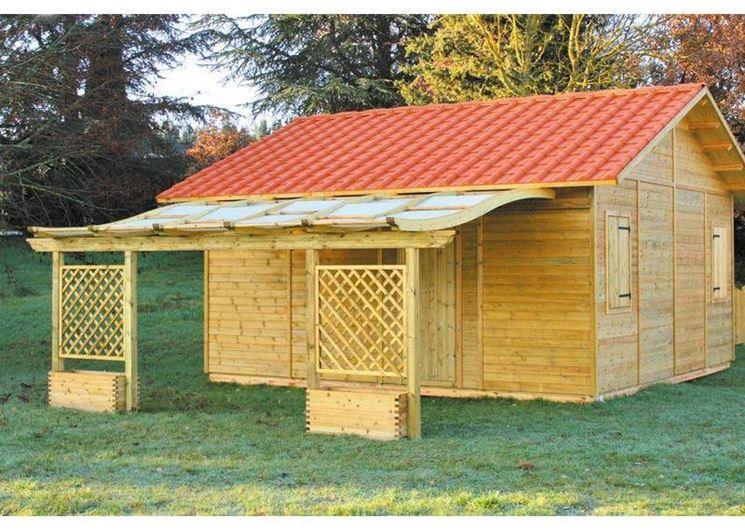Kit casette in legno casette per giardino come - Casette da giardino in resina ...