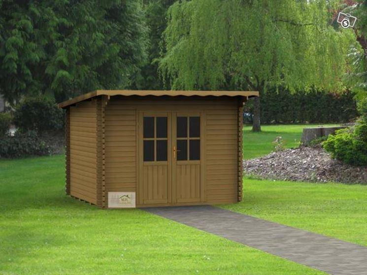 Kit casette in legno casette per giardino come - Casette in legno per giardino ...