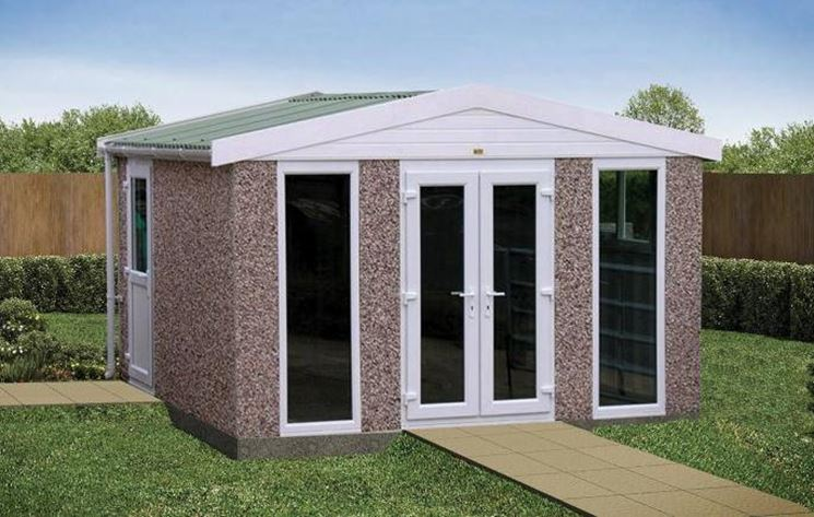 Pregi e difetti case prefabbricate in cemento casette for Prefabricated garden rooms
