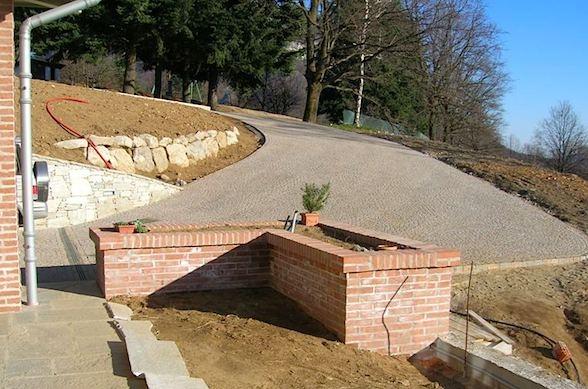 Fioriera in muratura fare giardinaggio la migliore for Costruire fioriera legno