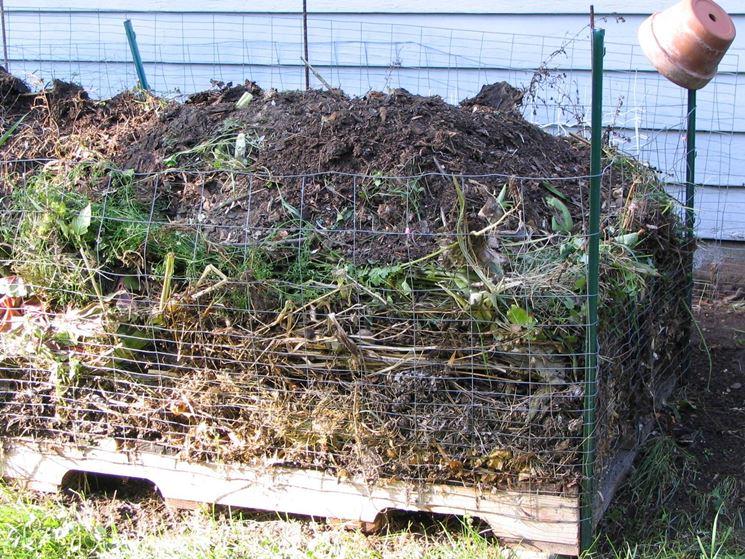 Il giusto spazio per il compostaggio