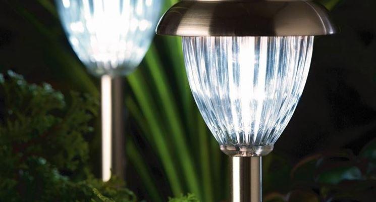 Progettare un giardino illuminato illuminazione da - Sughero pianta da giardino ...