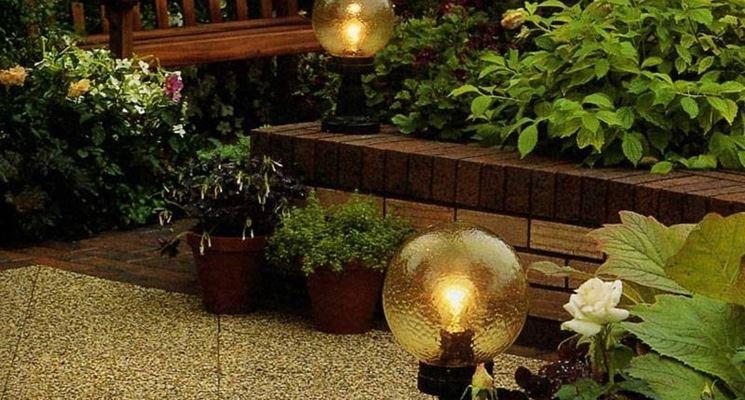 Realizzare l illuminazione per esterni illuminazione da giardino