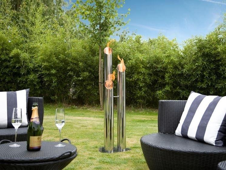 Come installare i caminetti da giardino materiali per giardini installazione caminetto per - Camino da esterno ...
