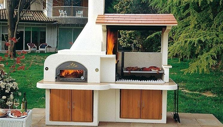 Come installare i caminetti da giardino materiali per - Camino da giardino ...