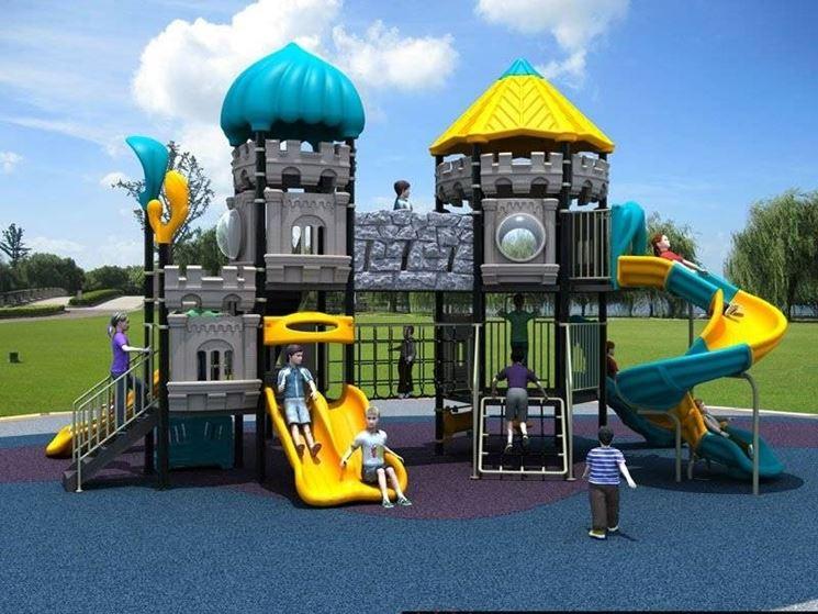 I migliori giochi da esterno - Materiali per giardini - Scegliere i giochi per bambini da esterno