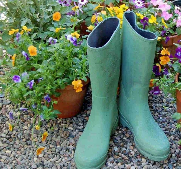 stivali da giardinaggio