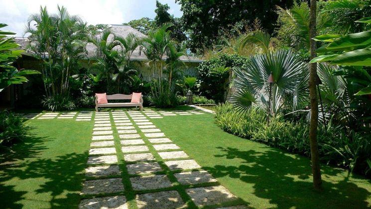 Tutta la bellezza di un giardino perfettamente curato.