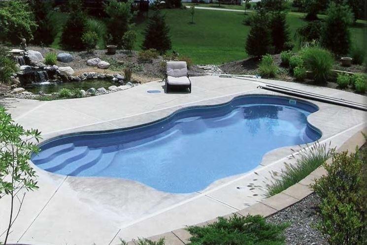 piscina cementata
