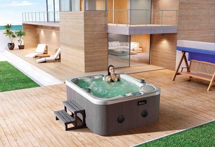 Modelli e prezzi vasche idromassaggio da esterno piscina for Jacuzzi de exterior baratos