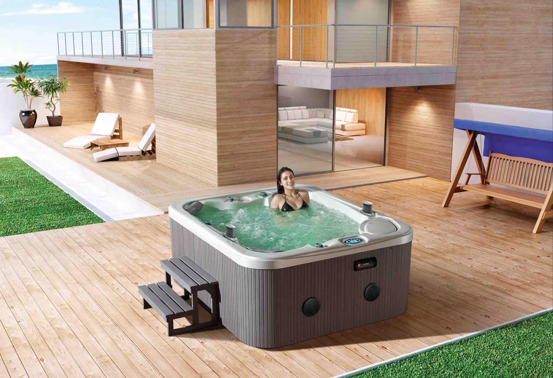 Modelli e prezzi vasche idromassaggio da esterno piscina for Vasche da giardino in plastica