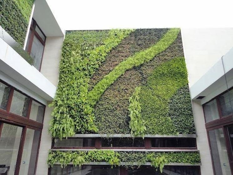 Edificio di Miami con parete vegetale