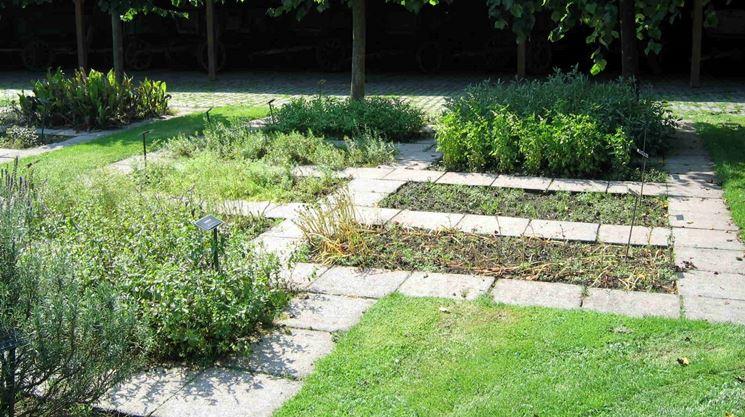 Un giardino coltivato