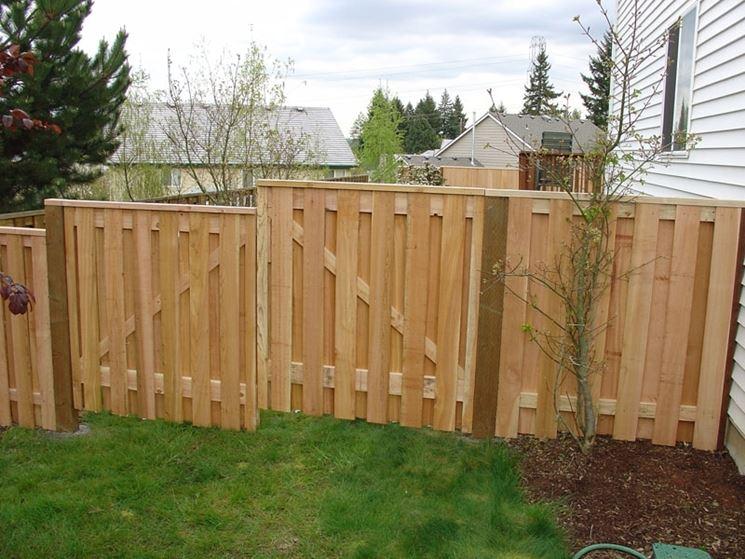 recinto in legno