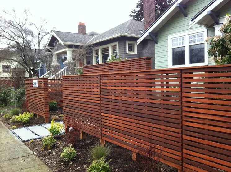 Migliori recinzioni in legno scelta delle recinzioni for Recinzioni giardino legno