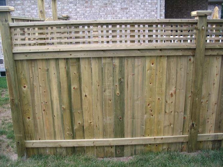 costruire una recinzione