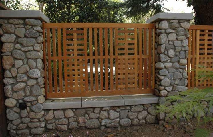 recinzione a muro