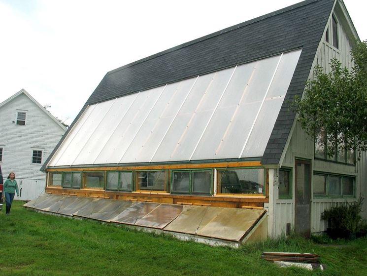 casa con serra solare
