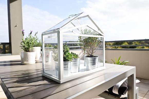 Parete Da Giardino : Prezzo delle serre da balcone - Serre da giardino ...
