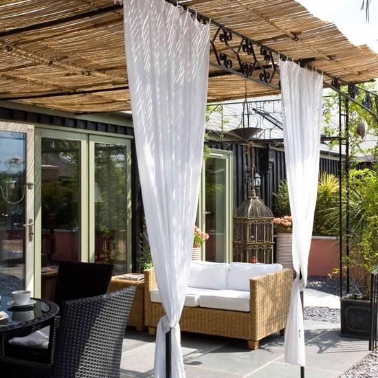 Tende da sole per terrazzi modello tendaggio