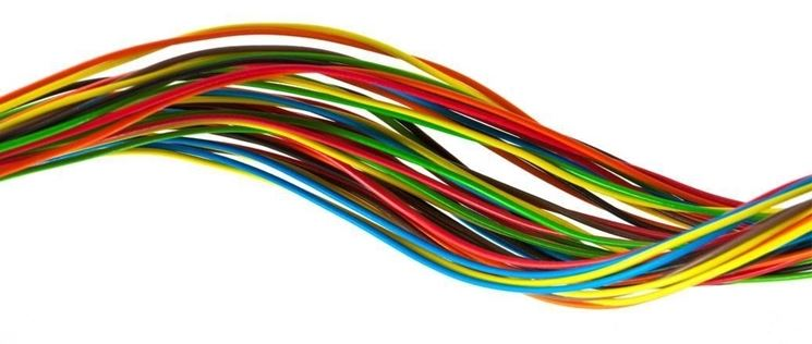 cavbi elettrici colorati