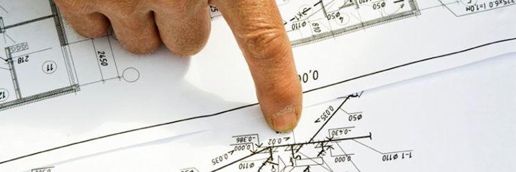 Progetto impianto elettrico (planimetria) - suddivisione per vani.