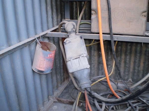 impianto elettrico di cantiere - Gli Impianti Elettrici ...
