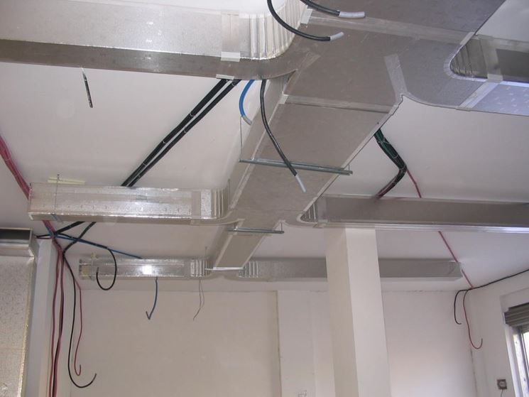 Canali d'aria a sezione rettangolare in poliuretano