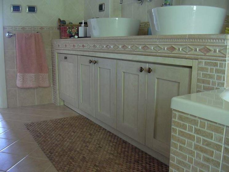 bagno in muratura