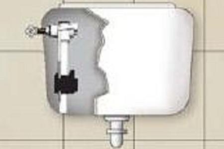 Come riparare cassetta wc gli impianti idraulici ecco - Cassetta scarico wc esterna montaggio ...