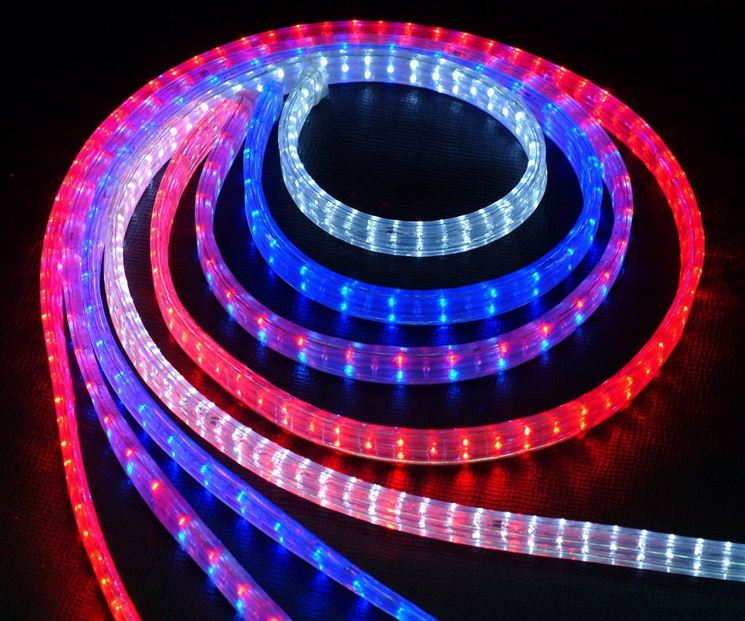 Strisce LED colorate