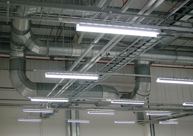 Illuminazione con lampade fluorescenti